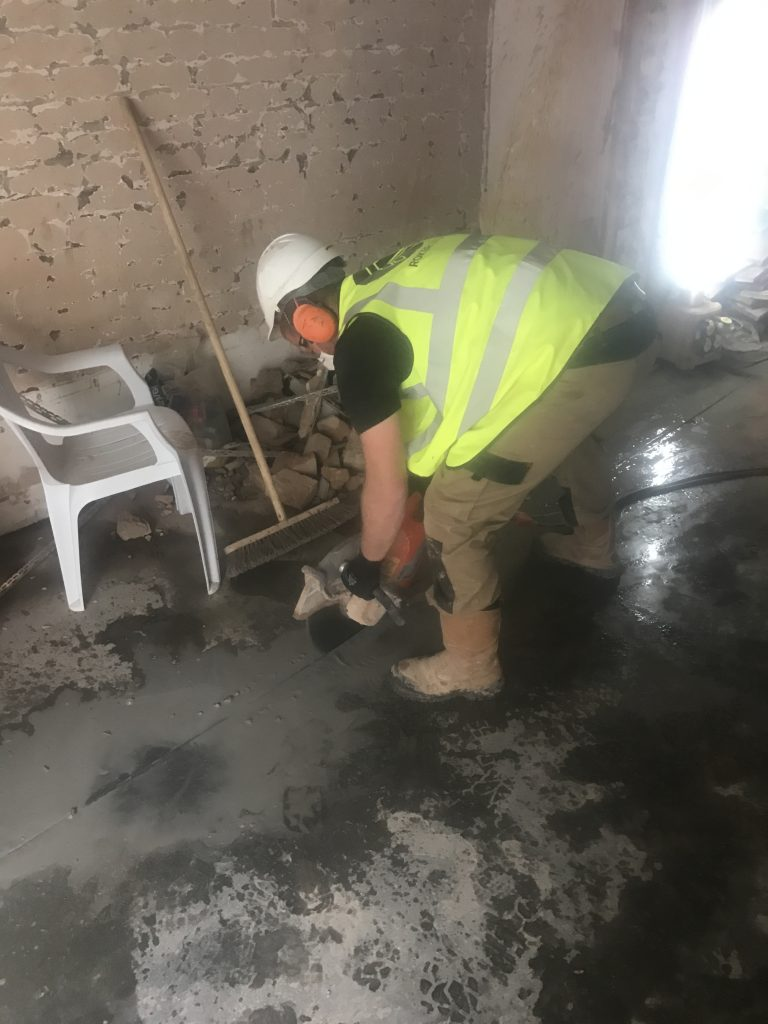 concrete cutting in tower hamlets london